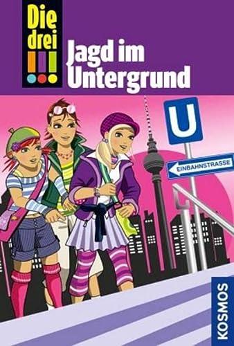 9783440122051: Die drei !!! Jagd im Untergrund (drei Ausrufezeichen)