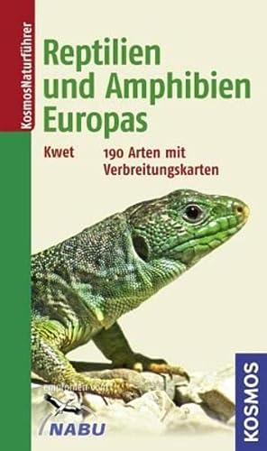 9783440125441: Reptilien und Amphibien Europas: 190 Arten mit Verbreitungskarten