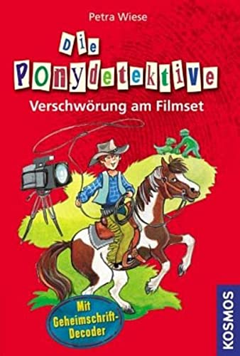 9783440125854: Die Ponydetektive. Verschwörung am Filmset