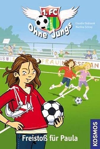 1. FC Ohne Jungs, 1, Freistoß für: Claudia Ondracek,Martina Schrey