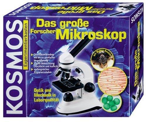 9783440636312: Das große Forscher-Mikroskop (Experimentierkasten)