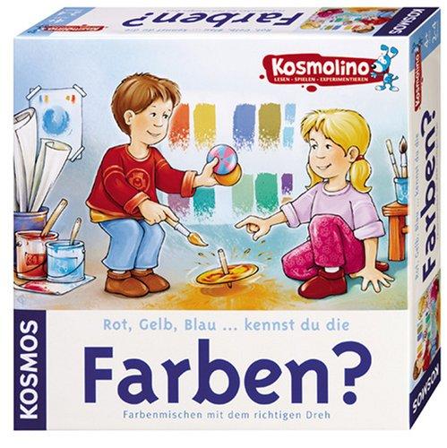 9783440696071: Kosmolino. Rot, Gelb, Blau ... kennst du die Farben?