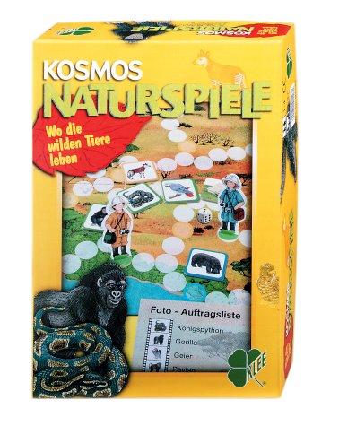 9783440911235: Kosmos Naturspiele, Wo die wilden Tiere leben (Spiel)