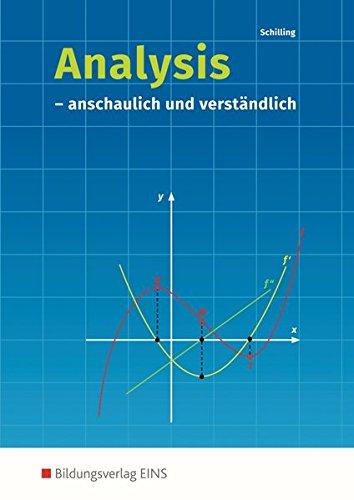 9783441032304: Analysis. anschaulich und verständlich: Schülerband