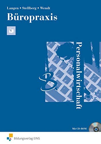 9783441318507: B�ropraxis: Personalwirtschaft. Arbeitsbuch