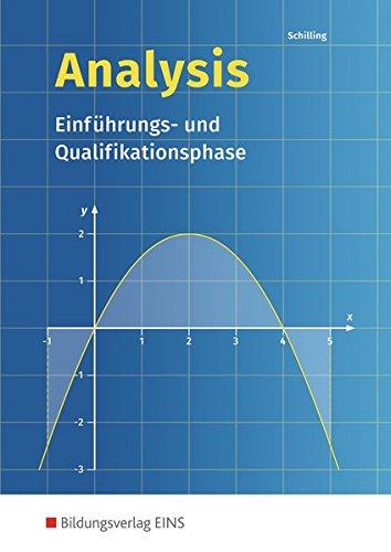 9783441323006: Analysis. Einführungs- und Qualifikationsphase: Schülerband