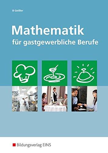9783441926580: Mathematik für gastgewerbliche Berufe. (Lernmaterialien)