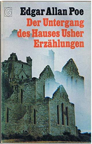Der Untergang des Hauses Usher. Erzählungen.: Allan Poe, Edgar: