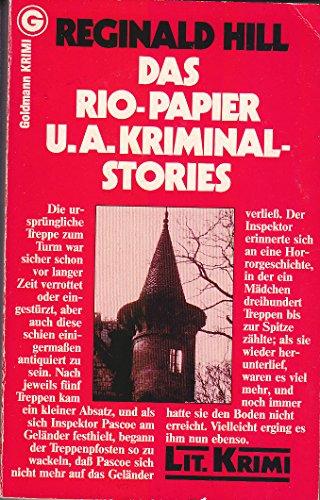9783442052165: Das Rio- Papier und andere Kriminalgeschichten.