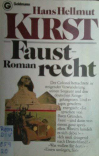 Faustrecht Roman (3442065976) by [???]