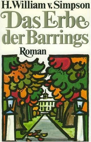9783442066551: Die Barrings III. Der Erbe. Roman.