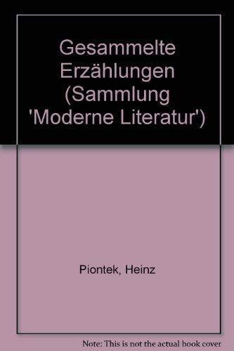 9783442070237: Gesammelte Erzählungen (Sammlung 'Moderne Literatur')