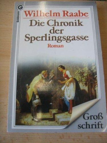 9783442072446: Die Chronik der Sperlingsgasse