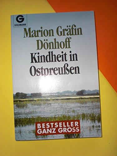 9783442072705: Kindheit in Ostpreussen