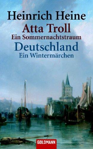 9783442075836: Atta Troll - Ein Sommernachtstraum /Deutschland, ein Wintermärchen