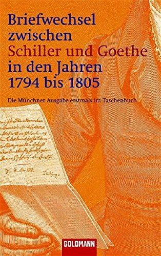 9783442077083: Briefwechsel zwischen Schiller und Goethe. 2 Bände