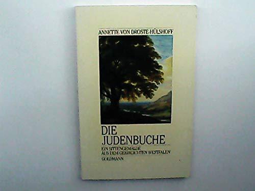 9783442086726: Die Judenbuche. Ein Sittengemälde aus dem gebirgichten Westfalen.