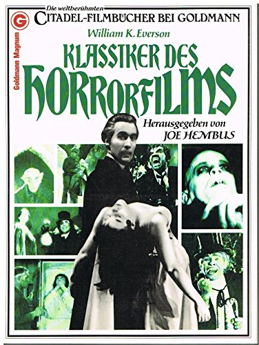 9783442102051: Klassiker Des Horrorfilms