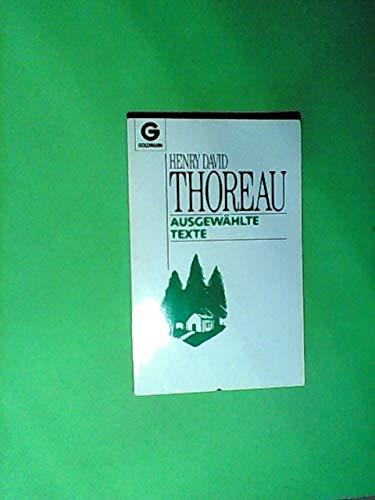 Ausgewählte Texte. Herausgegeben von Hans Christian Meiser.: Thoreau, Henry David: