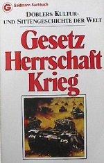 Döblers Kultur- und Sittengeschichte der Welt. Gesetz.: Döbler, Hans Ferdinand