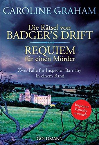 9783442134465: Die Rätsel von Badger's Drift/Requiem für einen Mörder