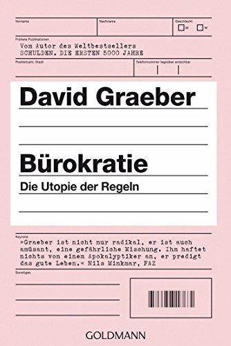 9783442159208: Bürokratie: Die Utopie der Regeln