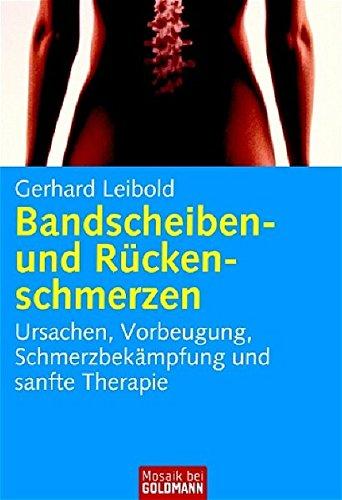9783442167791: Bandscheiben- und Rückenschmerzen