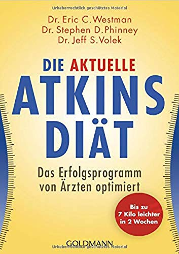 9783442172405: Die aktuelle Atkins-Diät: Das Erfolgsprogramm von Ärzten optimiert