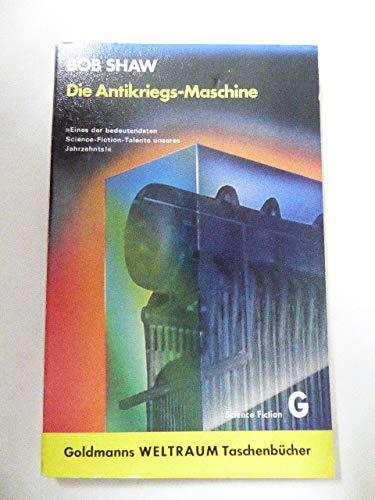 Die Antikriegs-Maschine. Utopisch-technischer Roman. Aus dem Englischen von Wulf H. Bergner. Originaltitel: Ground zero man (1971). - (=Goldmanns Weltraum-Taschenbücher, Band WTB 0153). - Shaw, Bob
