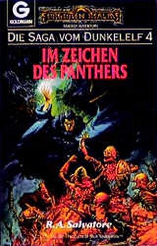 9783442245666: Die Saga vom Dunkelelf 4. Im Zeichen des Panthers.