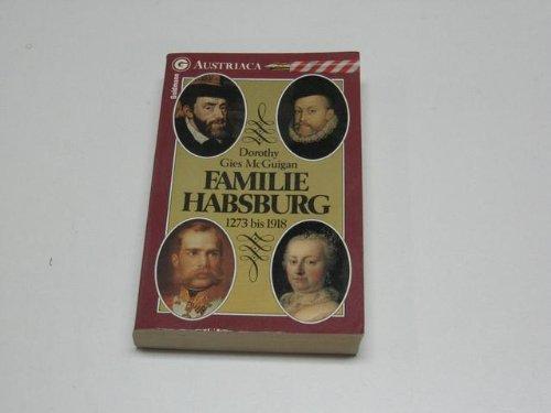 9783442267019: Familie Habsburg 1273 - 1919