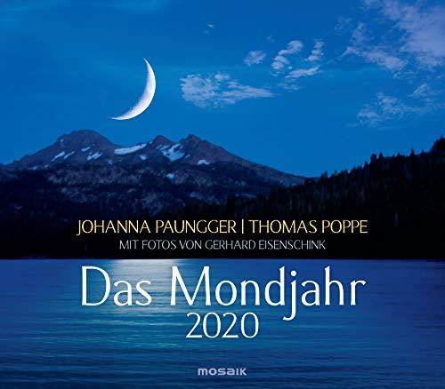 9783442319190: Paungger, J: Mondjahr 2020 Wandkalender