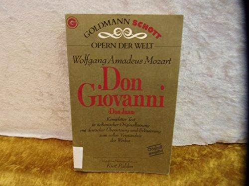 9783442330461: Don Giovanni