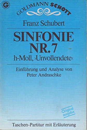 """7. Sinfonie h-moll """"Unvollendete"""": Schubert, Franz"""