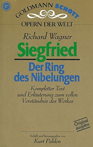 9783442330744: Siegfried, Bd III