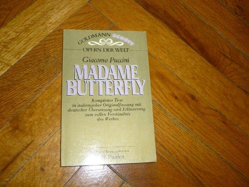 9783442331123: Madame Butterfly. Opern der Welt