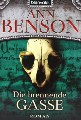 Die brennende Gasse (344237006X) by Ann Benson