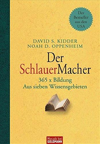 9783442391646: Der SchlauerMacher: 365 x Bildung. Aus sieben Wissensgebieten