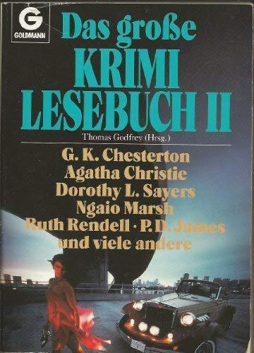 THOMAS GODFREY: Das große Krimi Lesebuch II: Christie, Dorothy L.