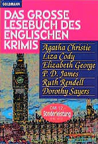 das grosse lesebuch des englischen krimis (das: liza cody,elizabeth george,p