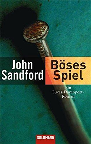 Böses Spiel. (3442434297) by John Sandford
