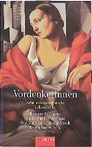 Vordenkerinnen: Zehn aussergewöhnliche Lebensbilder (Goldmann Allgemeine Reihe) - Bollmann, Stefan