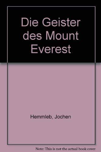 9783442711086: Die Geister des Mount Everest