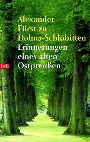 9783442724352: Erinnerungen eines alten Ostpreußen.
