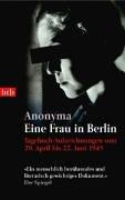 9783442732166: Eine Frau in Berlin; Tagebuchaufzeichnungen Vom 20.April - 22. Juni 1945 (German Edition)