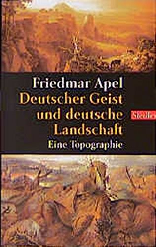 9783442755899: Deutscher Geist und deutsche Landschaft