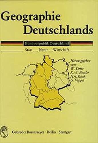 Geographie Deutschlands: Wolf Tietze