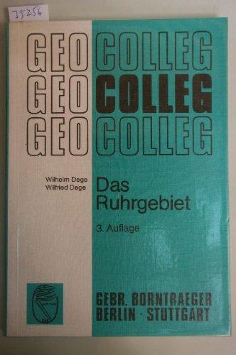 9783443070106: Das Ruhrgebiet