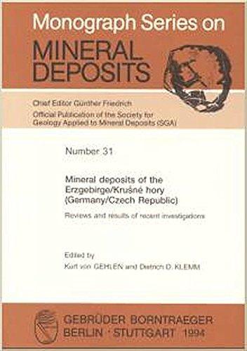 Mineral deposits of the Erzgebirge/Krusne hory (Germany/Czech