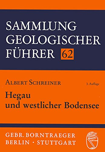 9783443150839: Hegau und westlicher Bodensee